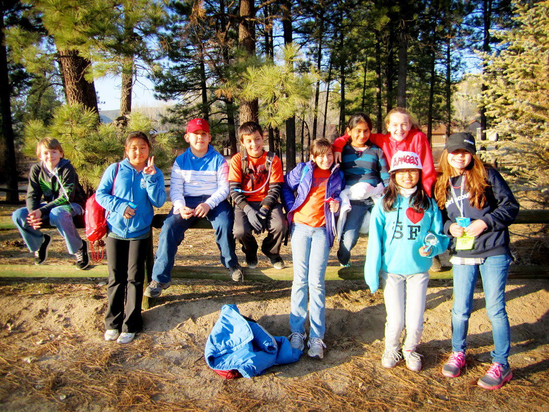 Outdoor Education Students