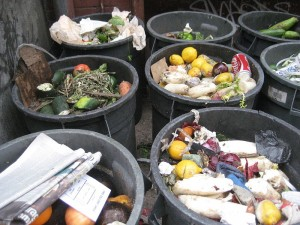 Household food waste in New York