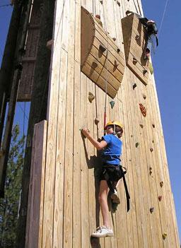 Stack Climbing Wall
