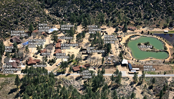 Pathfinder Ranch Map
